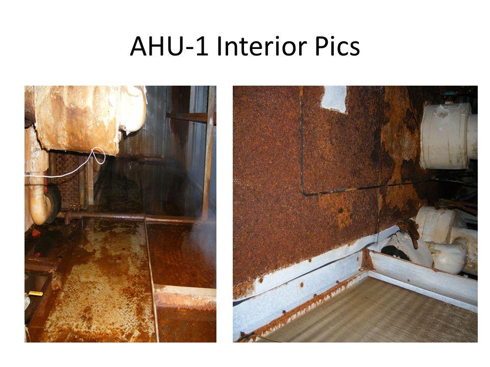 AHU-1 Interior Pics