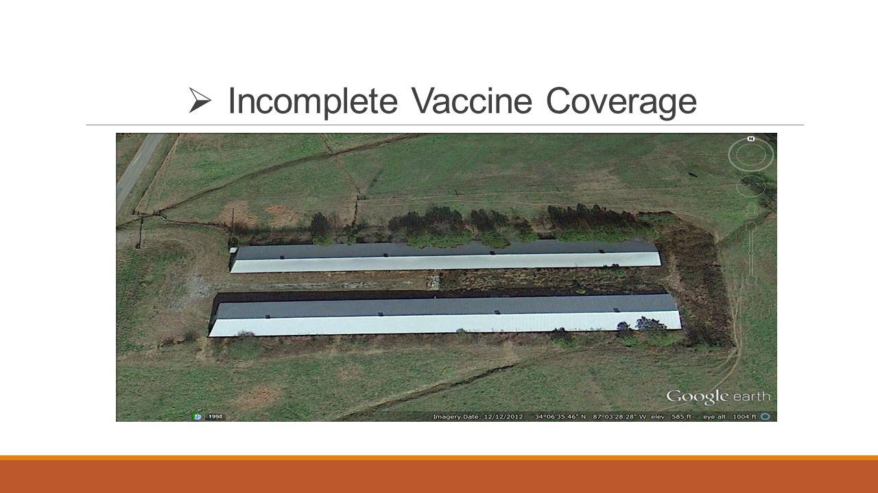  Incomplete Vaccine Coverage