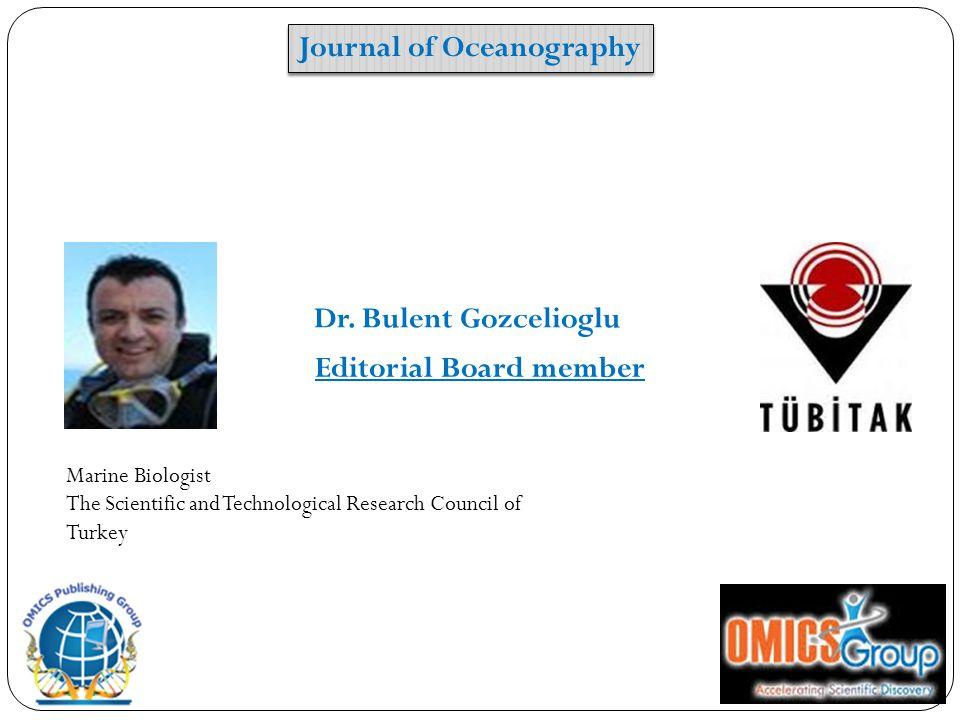 Editorial Board member Dr.