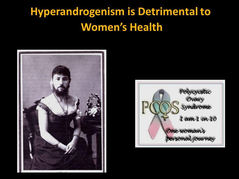 Hyperandrogenism is Detrimental to Women's Health