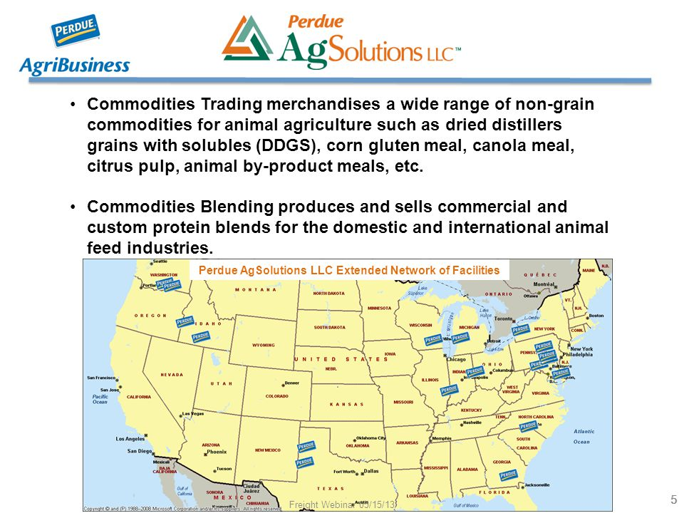 Commodities Trading merchandises a wide range of non-grain commodities for animal agriculture such as dried distillers grains with solubles (DDGS), co