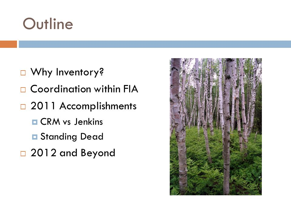 Why Inventory? Accounts for majority of carbon sequestration in U.S.