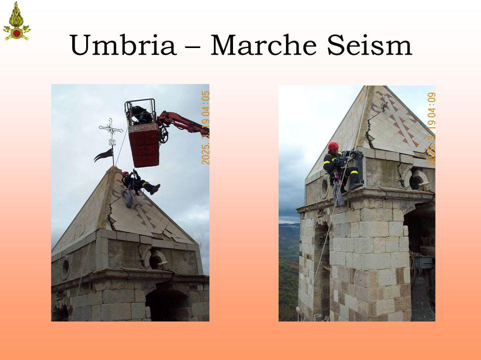 Umbria – Marche Seism