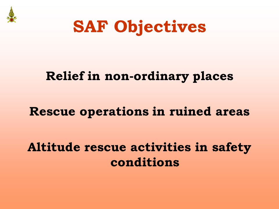 Intervention Scenario Rescue in difficult condition such as in deep wells.