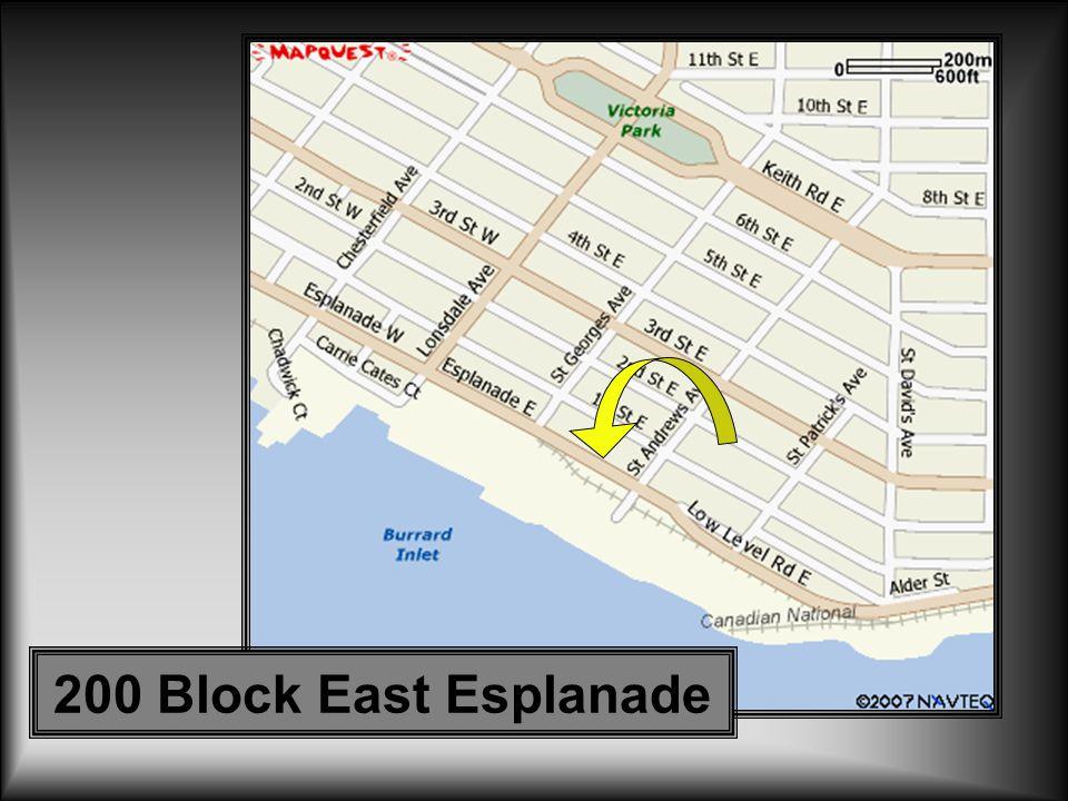 200 Block East Esplanade