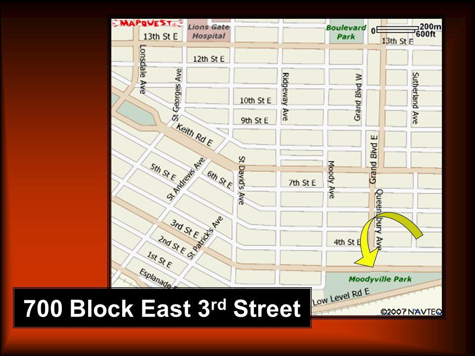 700 Block East 3 rd Street