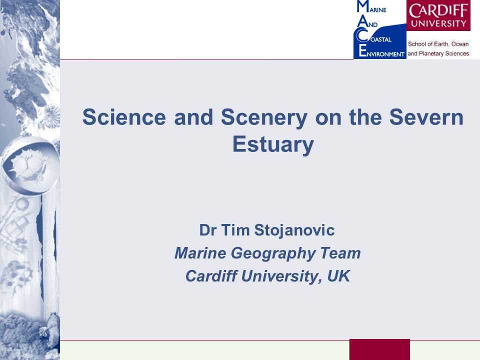 Introduction Introduction to my research How can you weave the Severn Estuary's scenery and science into KS3/4/A2 teaching.
