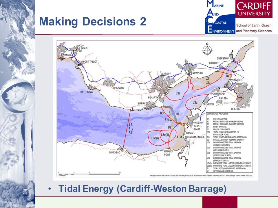 Making Decisions 2 Tidal Energy (Cardiff-Weston Barrage)