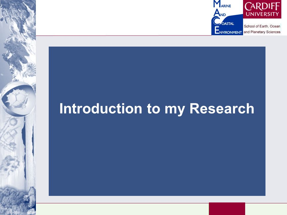 Introduction to my Research