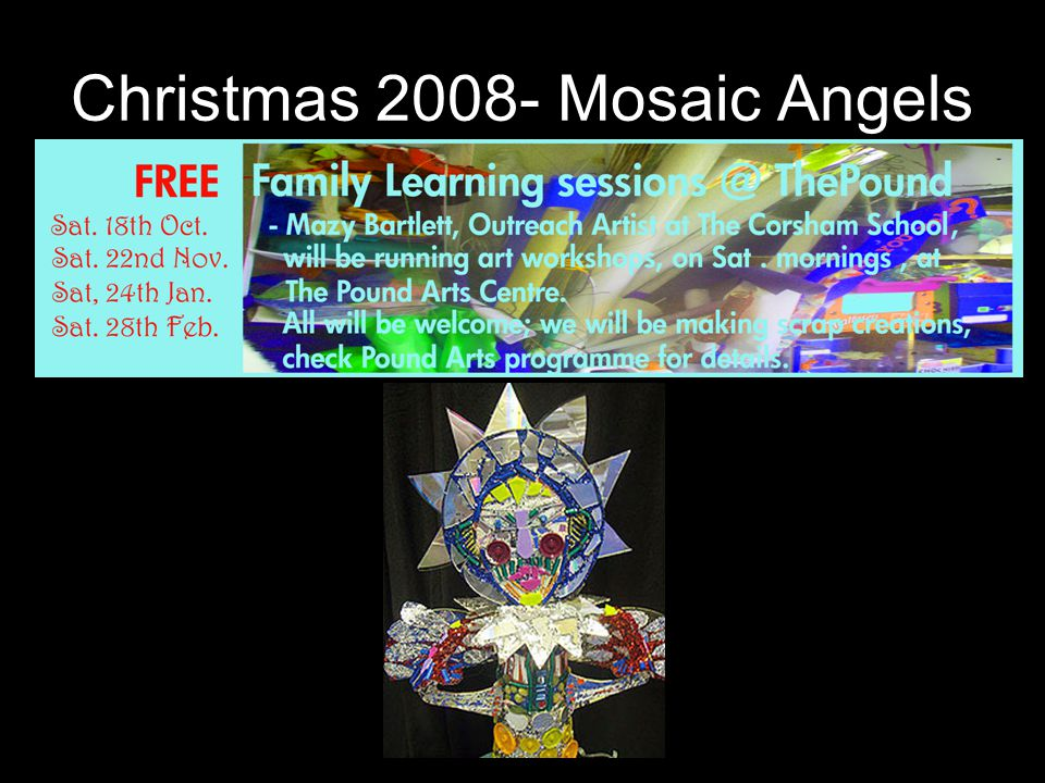 Christmas 2008- Mosaic Angels
