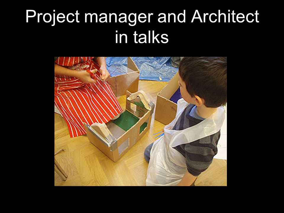 Project manager and Architect in talks