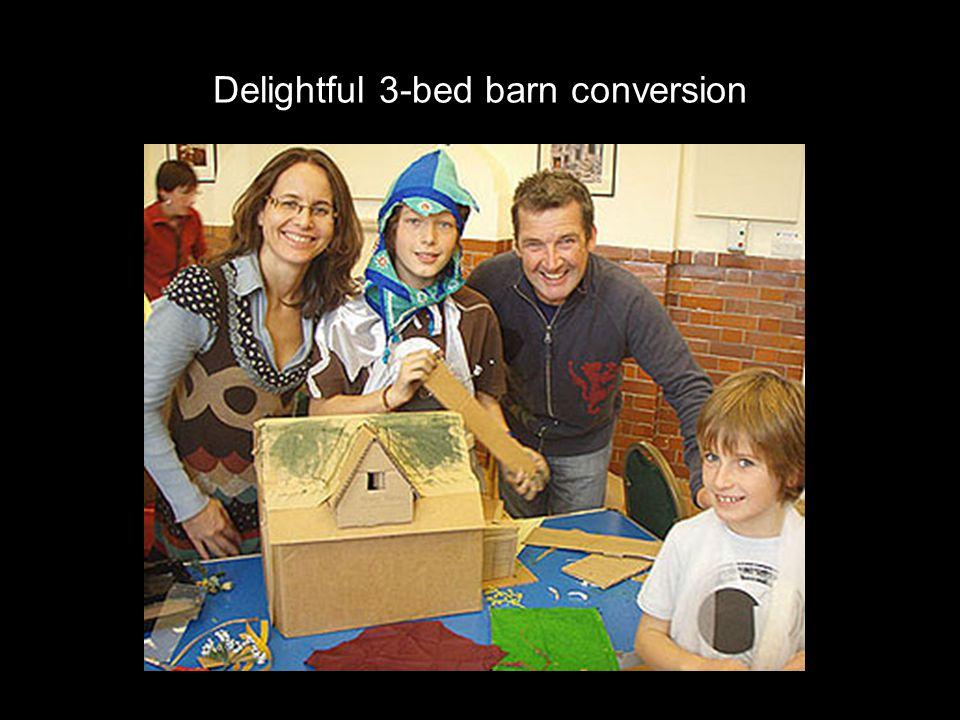 Delightful 3-bed barn conversion