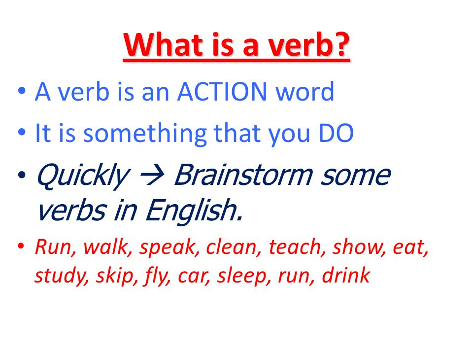 ANATOMY OF A VERB HABL AR The verb stem is always the same in regular verbs The verb ending tells you what form the verb is in.