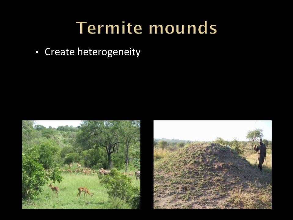 Create heterogeneity