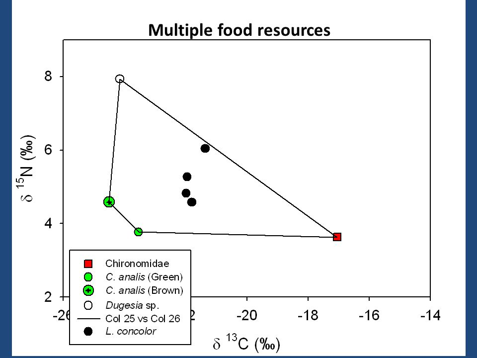 Multiple food resources