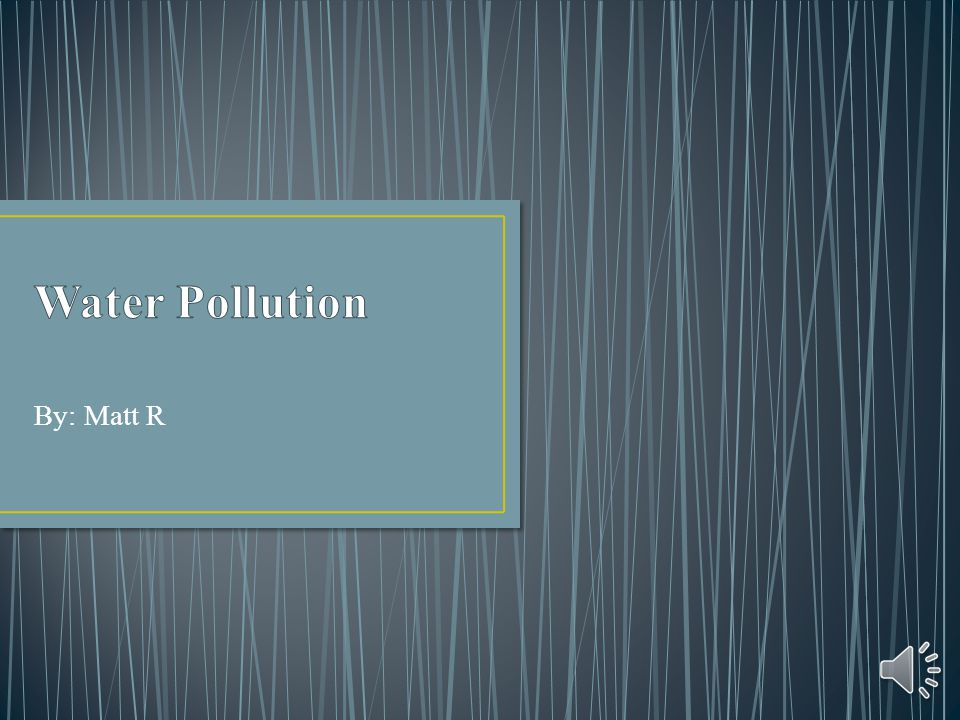 Pollution is bad. Help save the world!