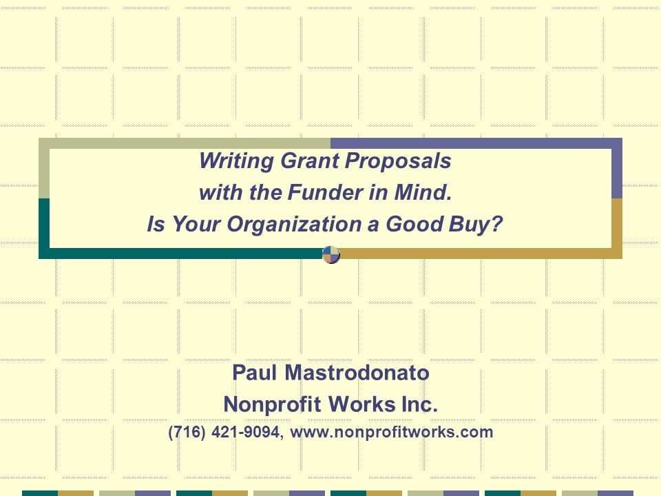 Paul Mastrodonato Nonprofit Works Inc.