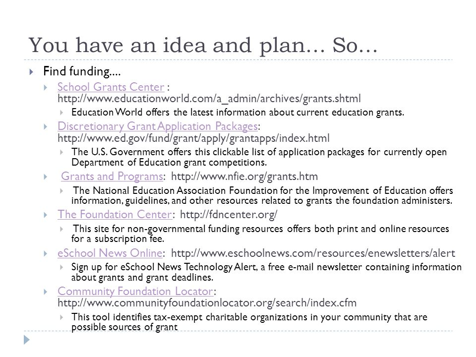 You have an idea and plan... So...  Find funding....