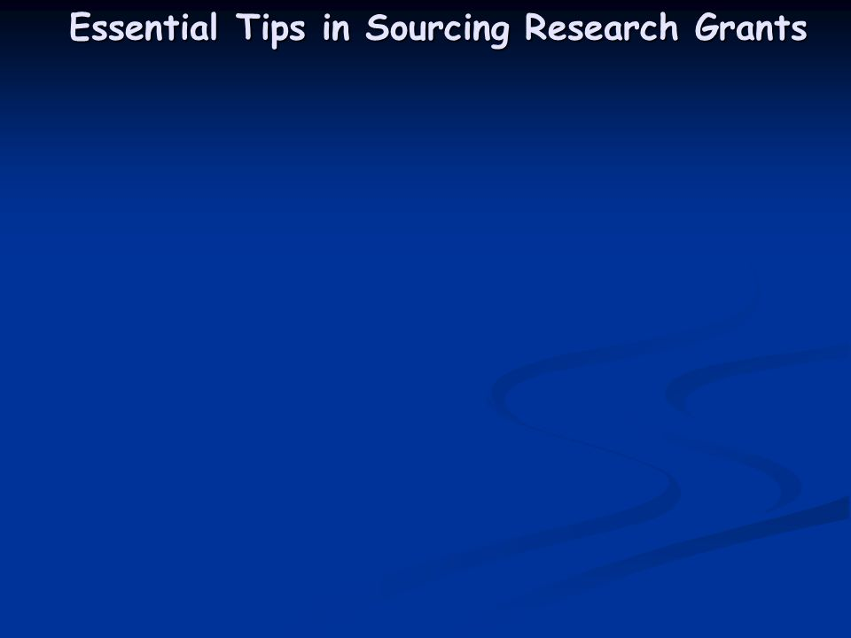 Essential Tips in Sourcing Research Grants