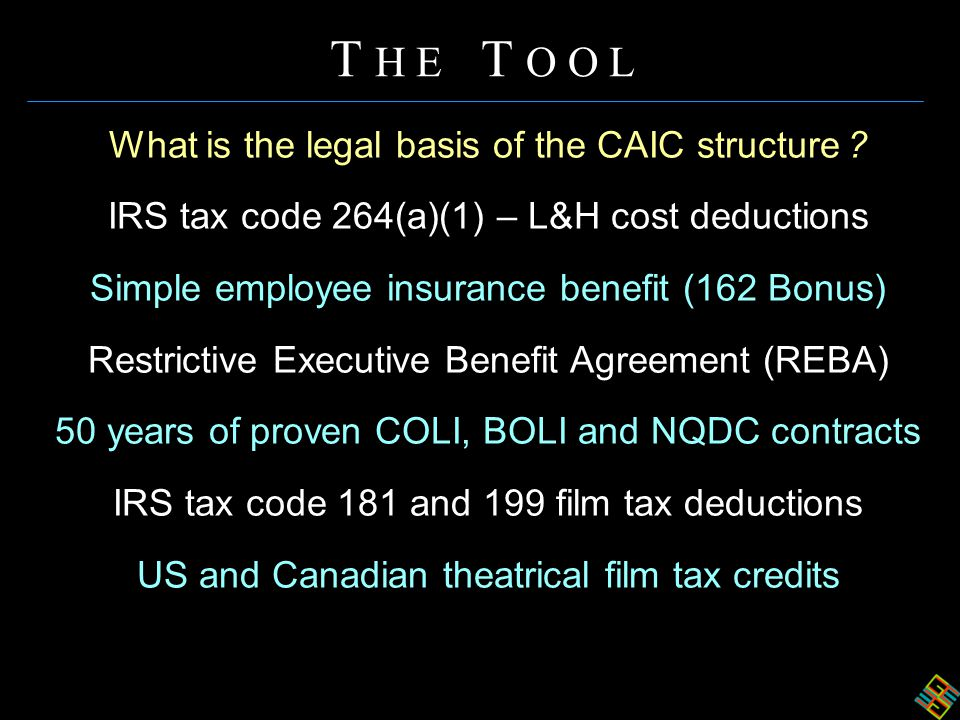 What is the legal basis of the CAIC structure .