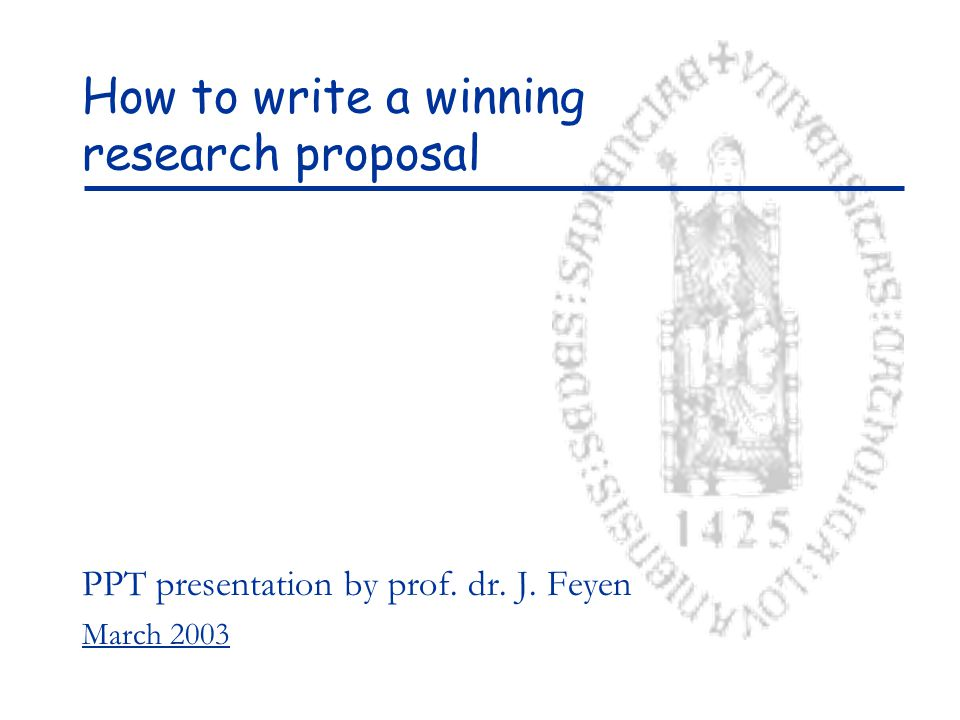 How to structure your proposal .Abstract: Should be a concise summary of the WHOLE project.