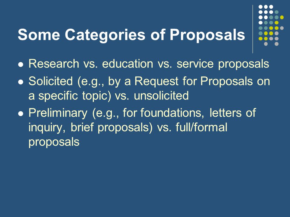 Guidance on Proposal Writing See www.gwu.edu/~research/prodevl.htm for guidance and training on successful proposal writingwww.gwu.edu/~research/prodevl.htm Foundation Center Proposal Writing Short Course: fdncenter.org/learn/shortcourse/prop1.html Agency-specific proposal guides