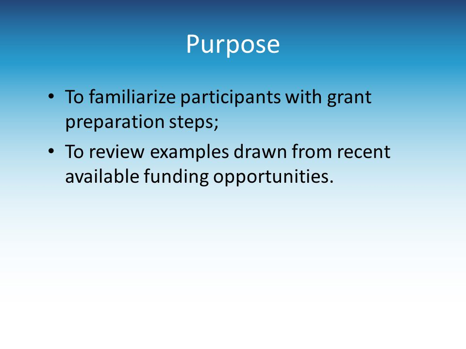 Submitting the Proposal: Electronic Electronic submission: Detailed guidelines provided by funder Often more complex than other submission processes Example: Grants.gov Once the proposal is sent, there is a 48 hour time period for monitoring the application to make sure process is complete