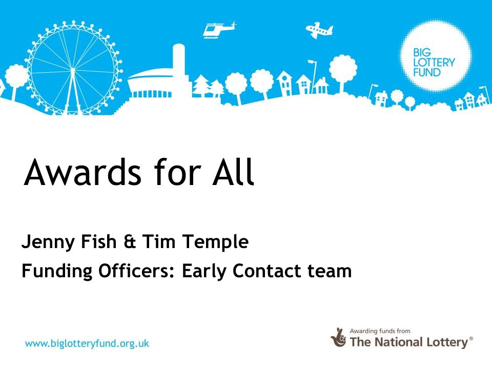 Awards for All - How much can you apply for.
