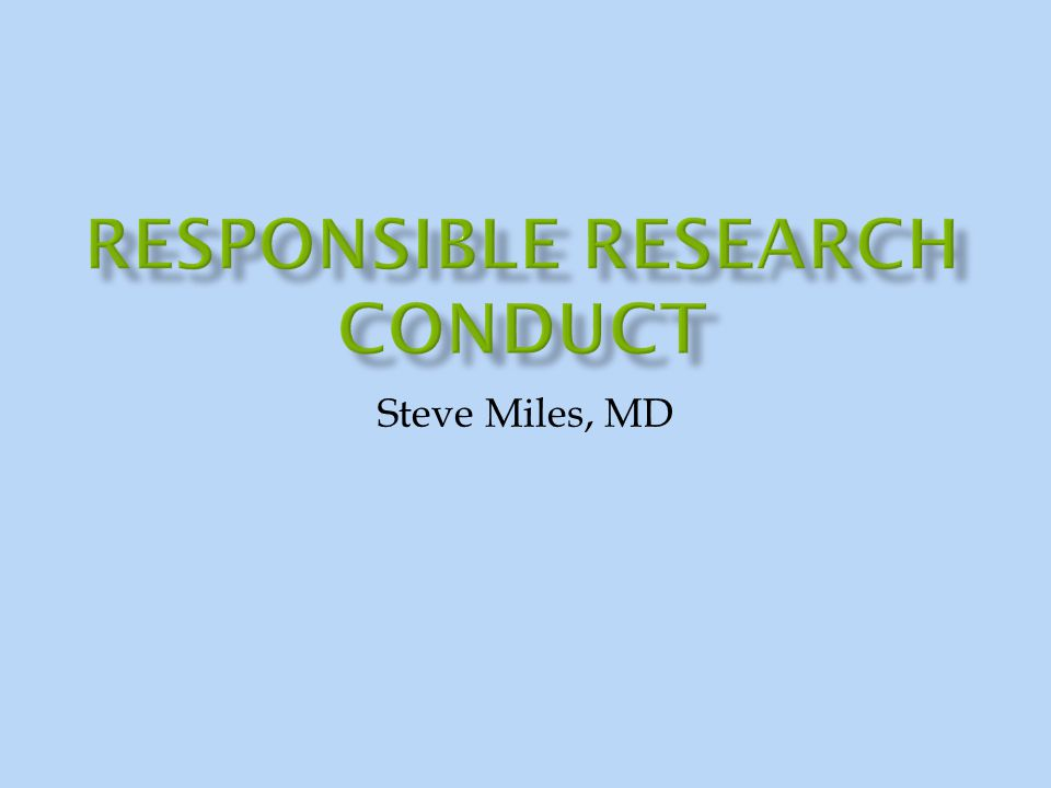 COVERED NOT COVERED  Social responsibility & misconduct  Authorship/plagiarism  Conflict of interest  Fraud  Places for Help  IRBs and protecting human subjects  Use of animals  Environmental health & safety, GMOs, toxins,  Intellectual Property  Military research