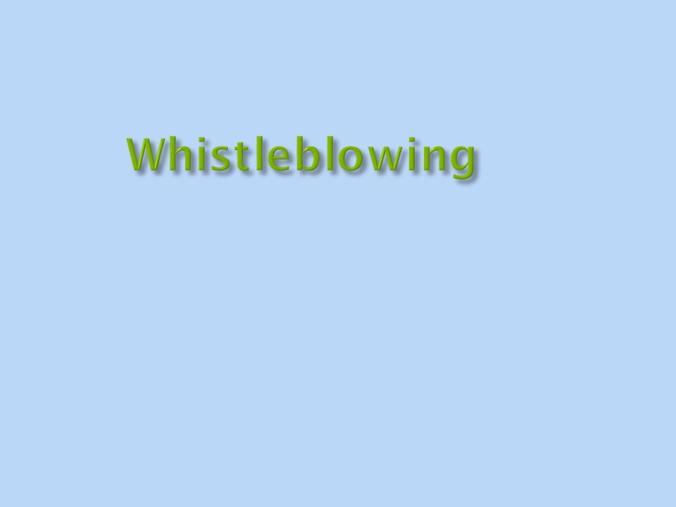 A review of 379 unsealed cases of research whistleblowing that were resolved between 1996 and 2005.