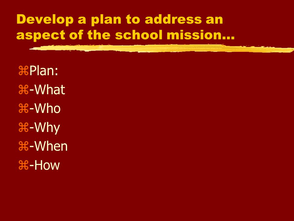 Opening Activity: zWrite what you think your school, department or grade-level's instructional vision/mission is.