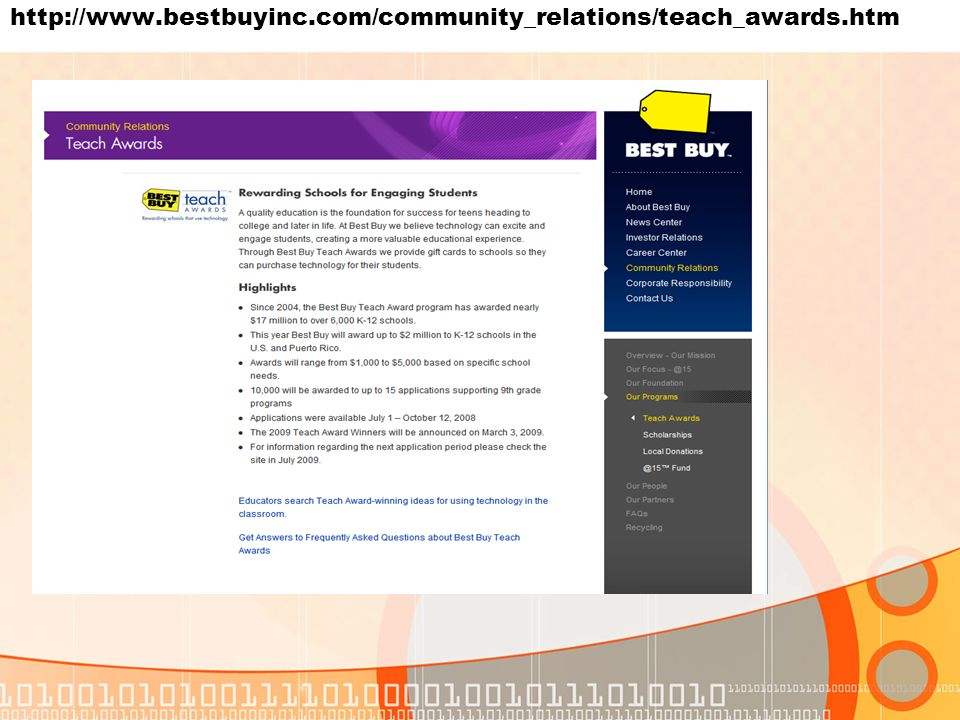 http://www.bestbuyinc.com/community_relations/teach_awards.htm