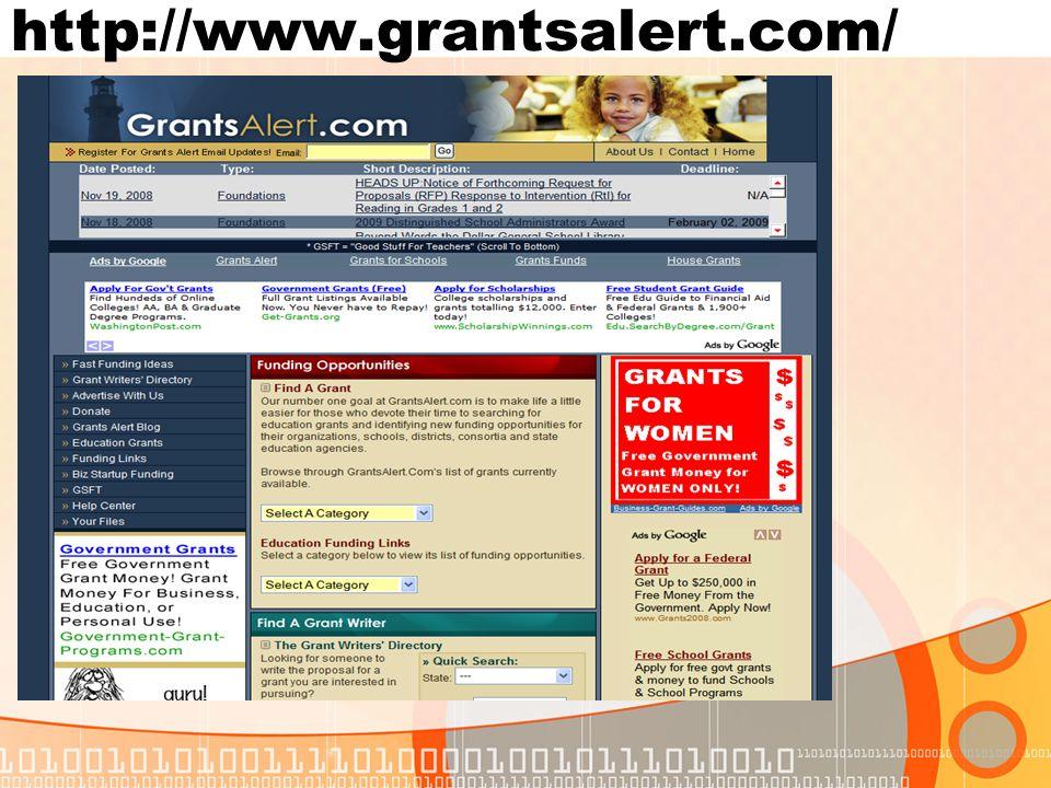 http://www.grantsalert.com/