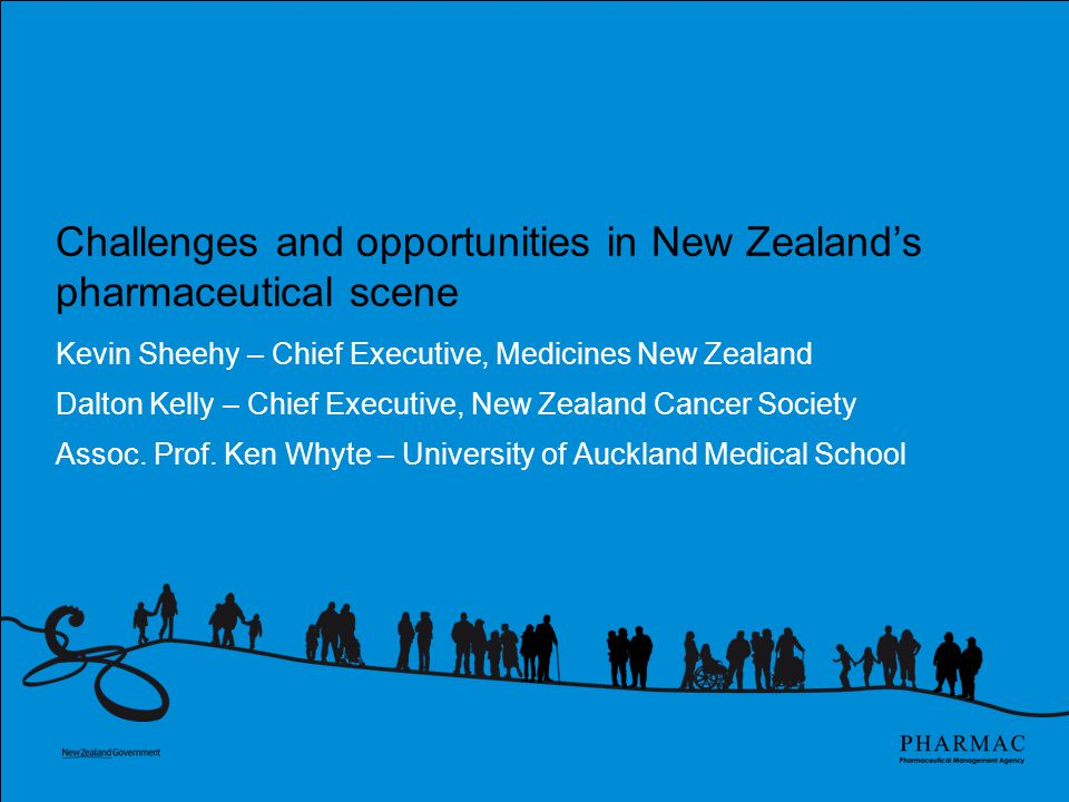 Changes & opportunities in NZ Pharmaceutical Scene: An individual clinician's view.