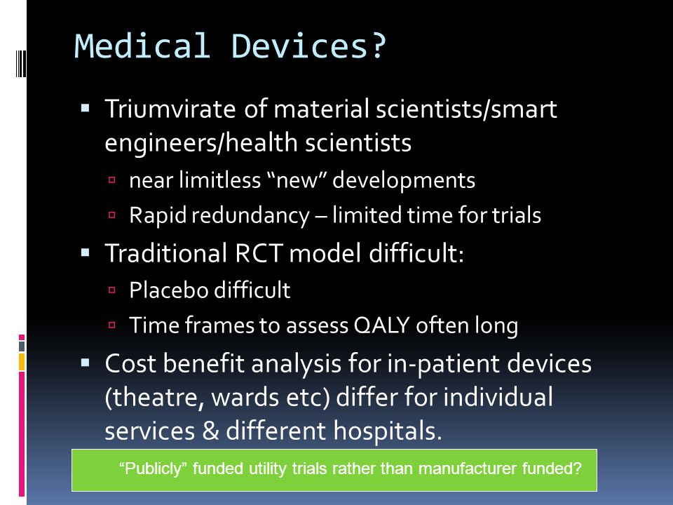 Medical Devices.