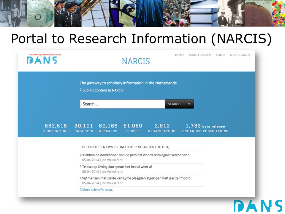 Portal to Research Information (NARCIS)