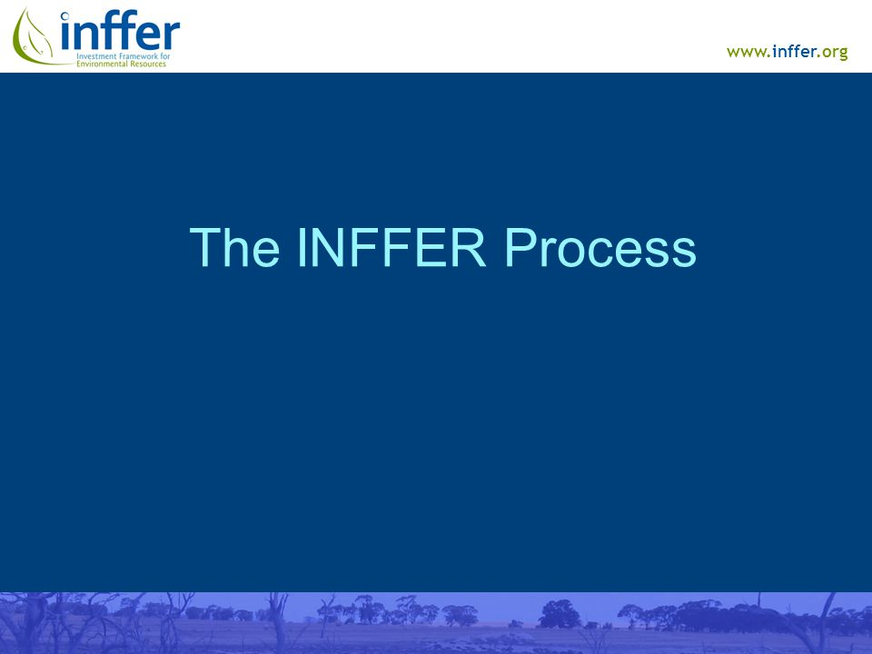 www.inffer.org The INFFER Process