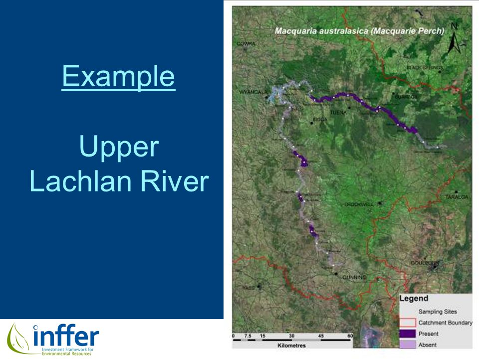 www.inffer.org Example Upper Lachlan River