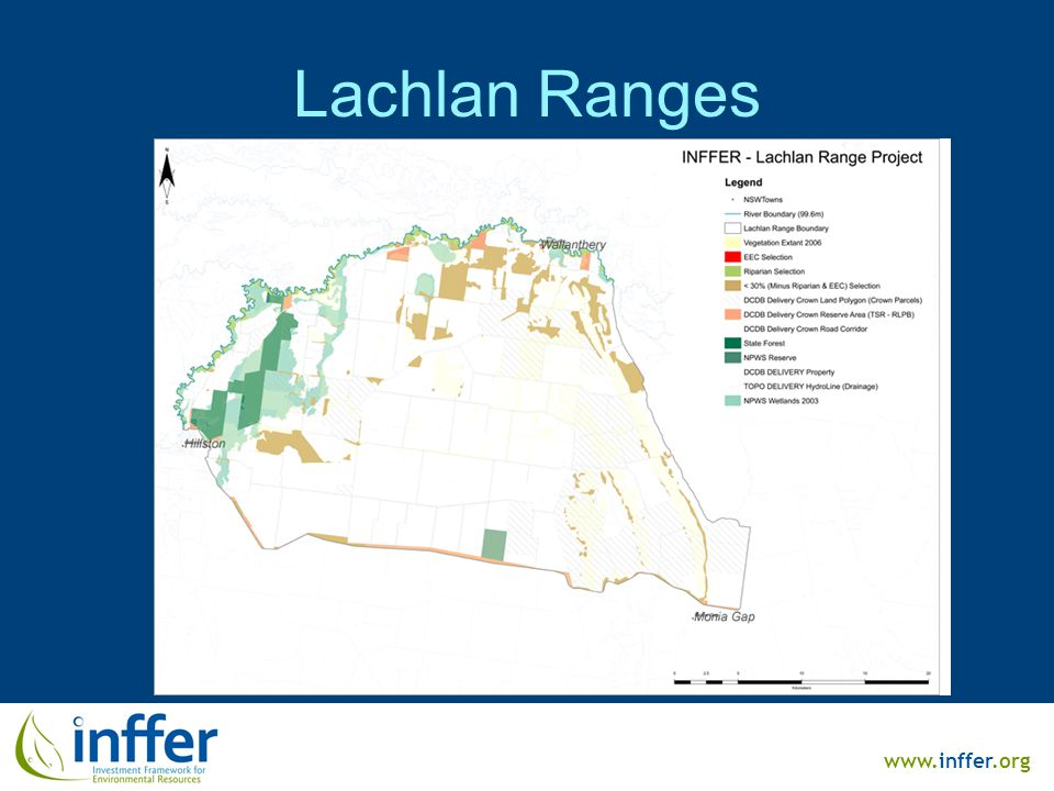 www.inffer.org Lachlan Ranges
