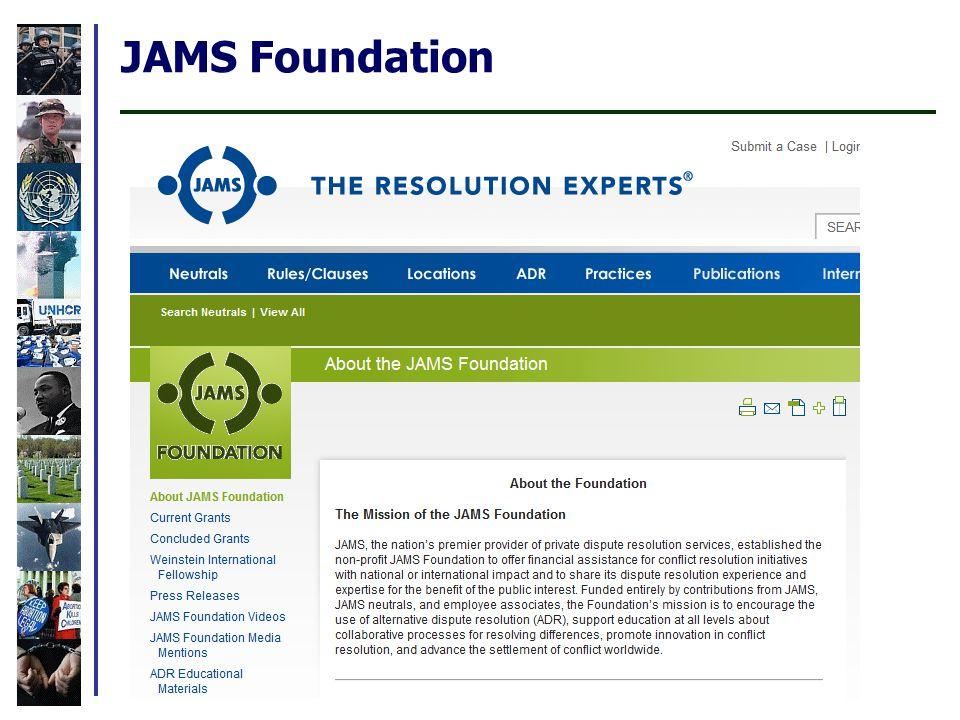 JAMS Foundation
