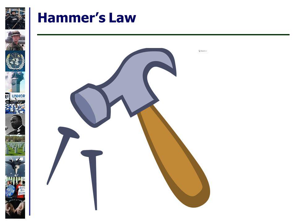 Hammer's Law