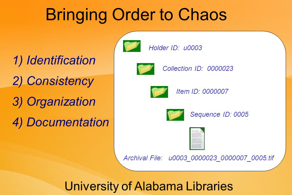 An Example of the Lowest- Cost Model: The Alabama Digital Preservation Network http://www.adpn.org/ http://www.lockss.org/ Lots of Copies Keeps Stuff Safe!!