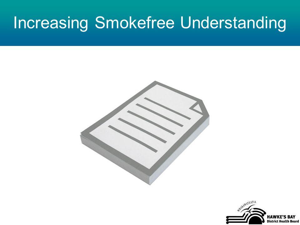 Increasing Smokefree Understanding