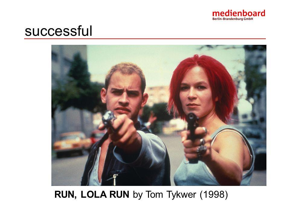 successful RUN, LOLA RUN by Tom Tykwer (1998)
