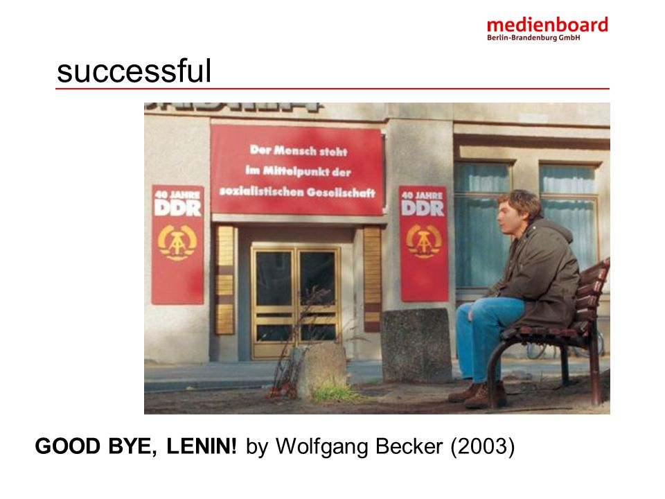 successful THE LIVES OF OTHERS by Florian Henkel von Donnersmarck (2006)