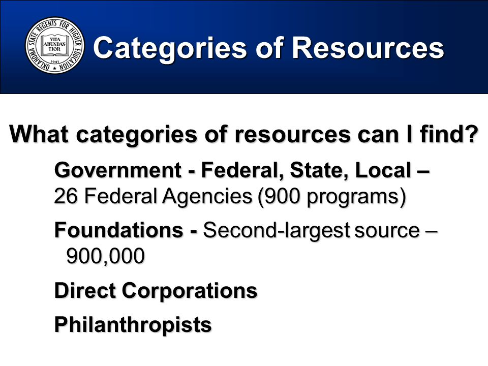 What categories of resources can I find.