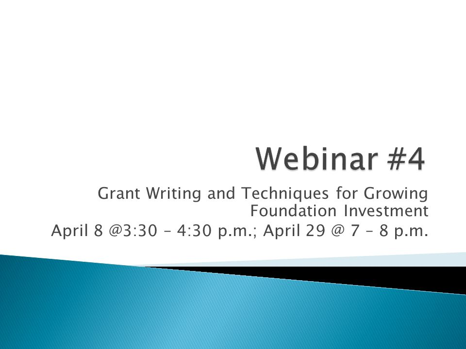  Be able to show evidence of diverse financial sources – the foundation grant should be one part of a fully diversified development plan  Research the foundation to determine any linkages and interest, and make sure your priorities are reflected in a strategic plan  Be sure your project or program is within their guidelines and the impact can be measured  Like individual fundraising, successful foundation partnerships are built on trusted relationships established over time 23