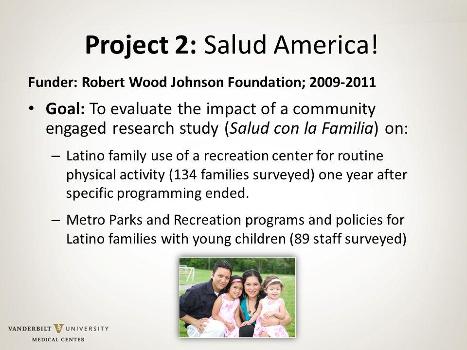 Project 2: Salud America.