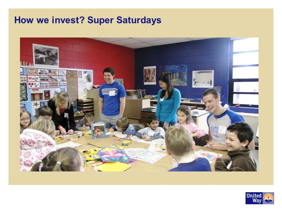 How we invest Super Saturdays