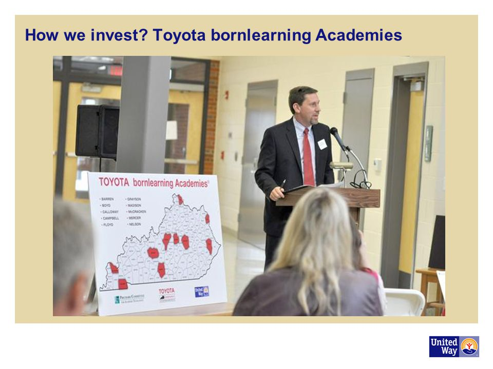 How we invest Toyota bornlearning Academies